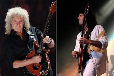 Emotiva despedida de Brian May, de Queen, a guitarrista de