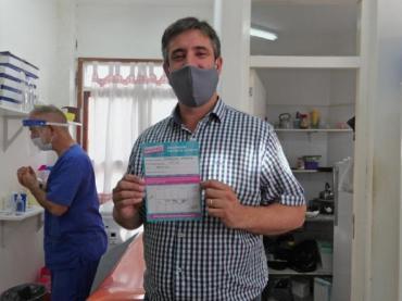 El intendente de Miramar tuvo coronavirus tras haberse vacunado