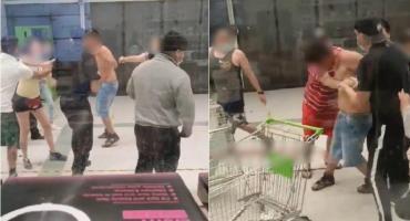 Brutal ataque en un supermercado en Chile: un joven apuñaló a dos guardias de seguridad
