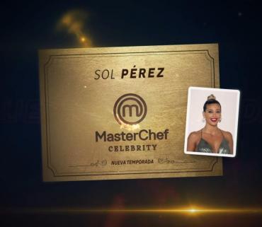 Sol Pérez es la nueva participante confirmada en Masterchef Celebrity