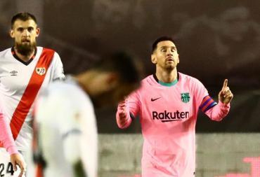 Messi volvió con gol, récord y clasificación: Barcelona venció al Rayo Vallecano y avanza en Copa del Rey