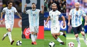 Cuatro argentinos en el mejor equipo de la década en Ámerica