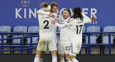 Triunfazo del Leeds de Marcelo Bielsa: 3 a 1 ante el Leicester en gran partido por la Premier League