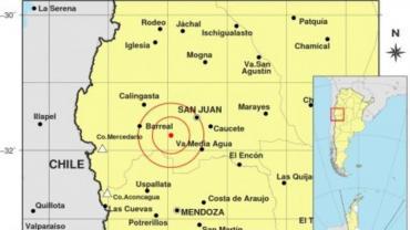 Alerta en San Juan por un nuevo sismo de 5 grados