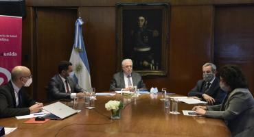 """Ginés González García, sobre las vacunas: """"El Gobierno casi tiene cubierta a la población argentina"""