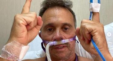 Sergio Lapegüe mientras está internado por coronavirus escribió en sus redes: