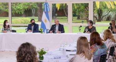 Alberto Fernández, en el Consejo de Educación: