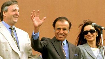 Cristina Kirchner lamentó la muerte de Carlos Menem