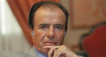 Robaron el histórico anillo del expresidente Carlos Menem