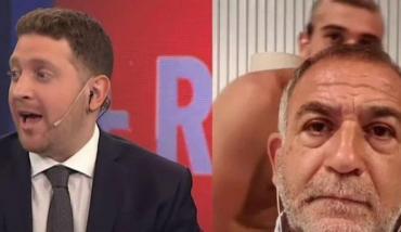 Luis Juez daba una entrevista por Zoom cuando su hijo apareció desnudo en cámara
