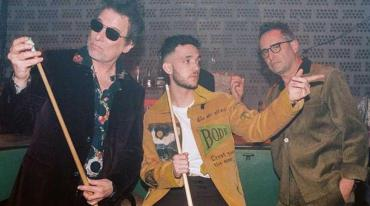 El madrileño C. Tangana se vuelca al rock con Andrés Calamaro