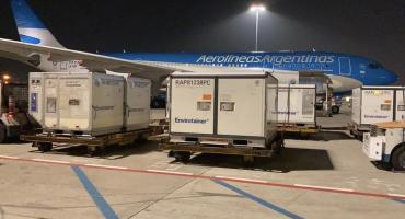 Coronavirus en Argentina: llegaron al país las 904 mil dosis de la vacuna china de Sinopharm