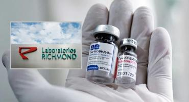 Laboratorio Richmond producirá en Argentina la vacuna Sputnik V contra el coronavirus