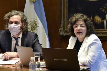 El jefe de Gabinete, Santiago Cafiero, se aisló por ser contacto estrecho de la ministra Vizzotti