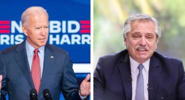 Biden invitó a Alberto Fernández a una Cumbre sobre Cambio Climático
