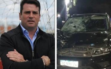 Pablo Cavallero, exarquero de la Selección argentina, atropelló y mató a un hombre en la ruta 2