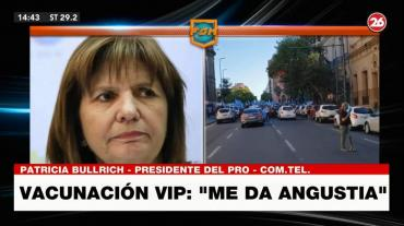 Patricia Bullrich, tras marchas contra