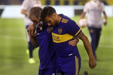 Malas noticias para Boca: se lesionó Salvio y estará 6 meses fuera de las canchas