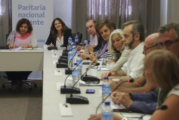 Nueva reunión por la paritaria docente entre los gremios y el Gobierno porteño