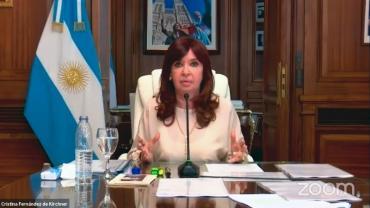Cristina Kirchner culpó a la Justicia por crisis económica: