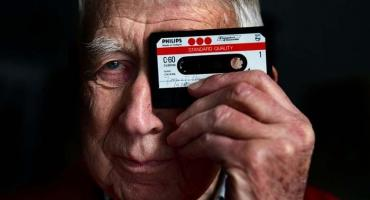 Murió el inventor del cassette: a los 94 años, falleció Lou Ottens