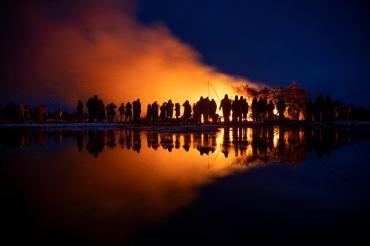 Rusia celebra la Máslenitsa, una festividad que marca el fin del invierno