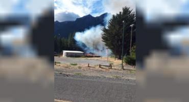Incendios forestales en Chubut: extinguieron foco en Lago Epuyén y contuvieron el de Los Alerces
