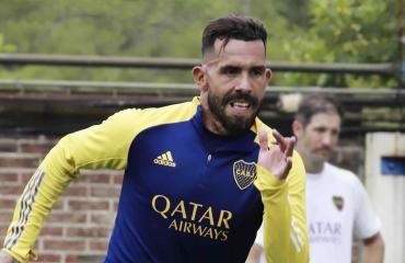 Expectativa en Boca: Russo espera que Tevez llegue para enfrentar a Talleres
