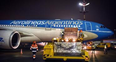 Parte otro vuelo de Aerolíneas Argentinas rumbo a Rusia para traer más vacunas Sputnik-V
