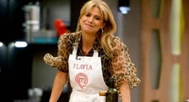 Flavia Palmiero, fue eliminada de Masterchef Celebrity 2