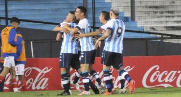 Sin sobrarle mucho, Racing le ganó a Argentinos Juniors 1 a 0