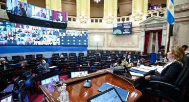 EN VIVO: El Senado sesiona para tratar el proyecto de moratoria para partidos políticos