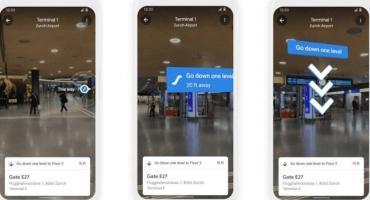 Lo nuevo de Google Maps: realidad aumentada en aeropuertos, rutas ecológicas y datos del clima