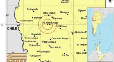 Un fuerte sismo de 3.9 sacudió a San Juan