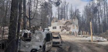 Preocupación: continúan los incendios forestales en Río Negro y Chubut
