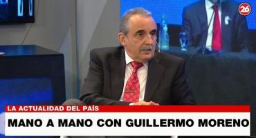 Guillermo Moreno, duro sobre el fracaso del Gobierno: