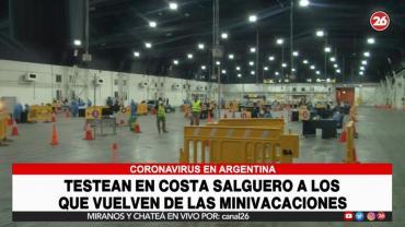 Testos por coronavirus en Ciudad de Bs.As.: 1.100 turistas y residentes dieron positivo tras minivacaciones de Semana Santa