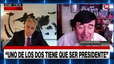 Durán Barba cuestionó el gobierno de Alberto Fernández con la influencia de Cristina Kirchner: