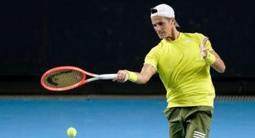 El ATP de Cagliari, se quedó sin argentinos: Federico Coria, eliminado en su debut