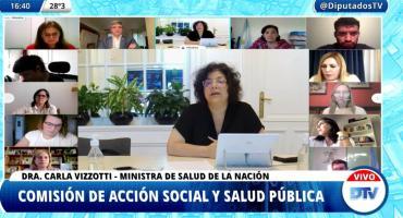Carla Vizzotti: