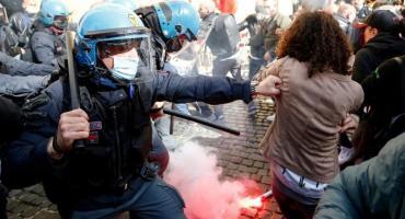 Caos en Italia: crecen las protestas contra las restricciones por el coronavirus