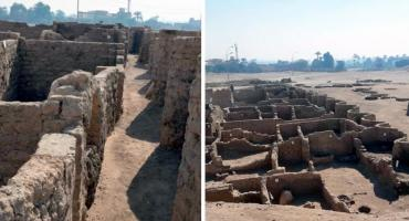 Hallaron en Egipto restos de una ciudad perdida de 3.000 años