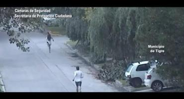 Un hombre golpeaba violentamente a su pareja en un auto y terminó detenido en Tigre