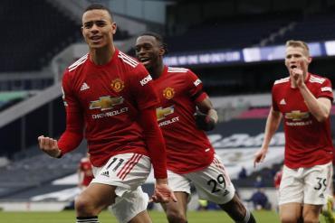 Premier League: Manchester United venció al Tottenham y no se baja de la pelea con el City