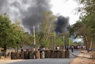 Violencia sin control en Myanmar: más de 80 muertos en protesta contra el régimen militar