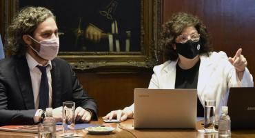 Cafiero y Vizzotti se reúnen este lunes con expertos para