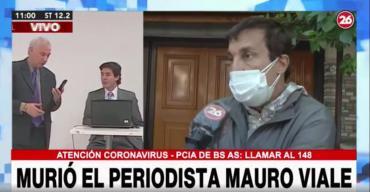 Paulo Vilouta despidió a su amigo Mauro Viale: