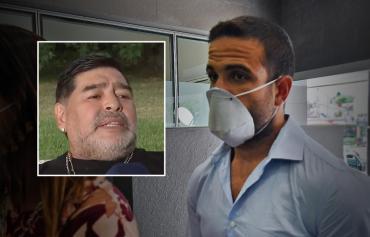 Previo al informe de la Junta Médica, el psicólogo de Diego Maradona pidió la eximición de prisión