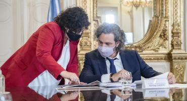 Alberto Fernández define nuevas restricciones con Cafiero y Vizzotti: inminente anuncio sobre circulación y nocturnidad