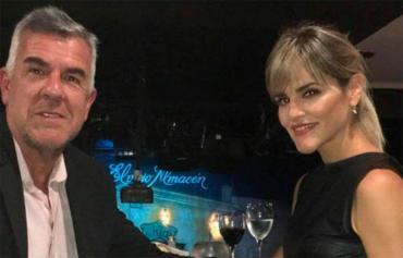 Dady Brieva y su mujer, Mariela Anchipi, dieron positivo de coronavirus
